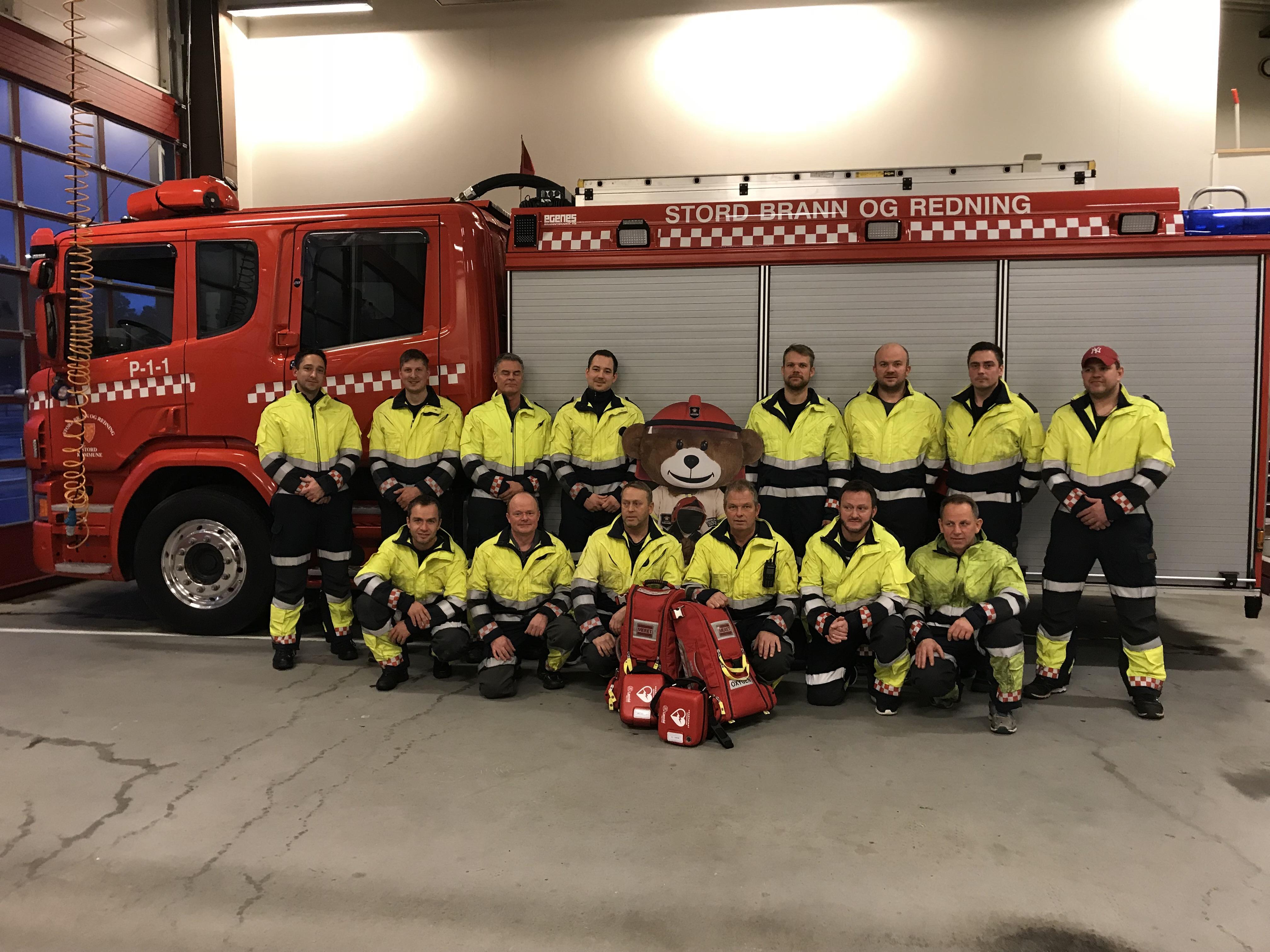 Stord brann og redning