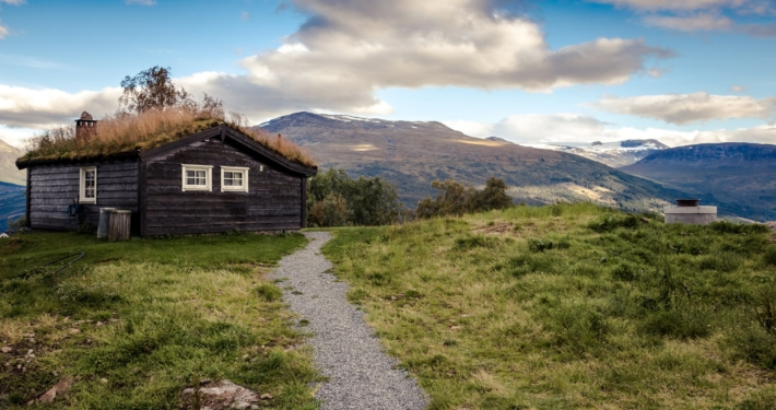 Hytte på fjellet